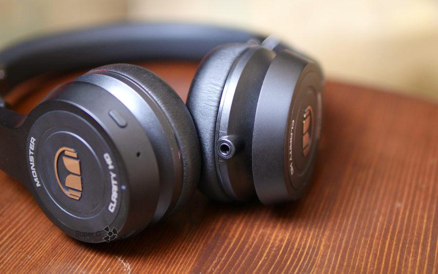 Monster Clarity HD On-Ear могут подключаться по мини-джеку