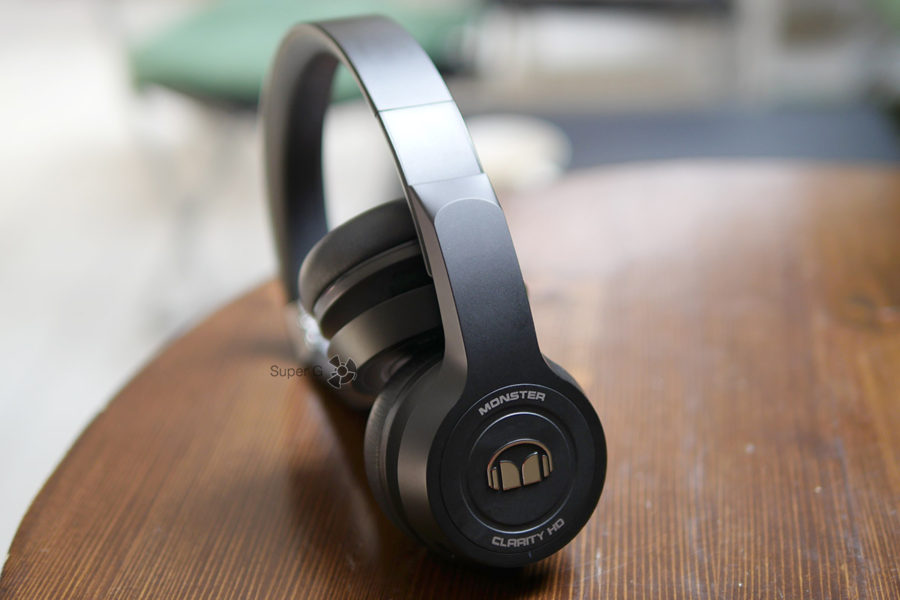 Раздвижная конструкция дужки Monster Clarity HD On-Ear