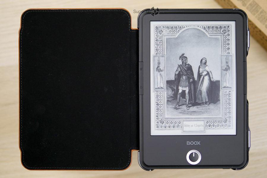 Дисплей ONYX BOOX Cleopatra 3 на основе электронный чернил с тёплой подсветкой, комфортной для глаз