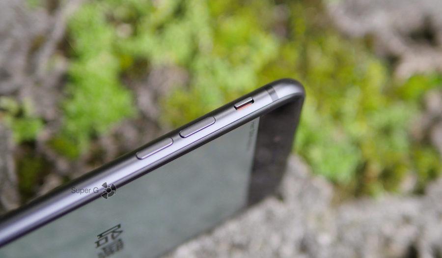 Переключатель в беззвучный режим в iPhone 8