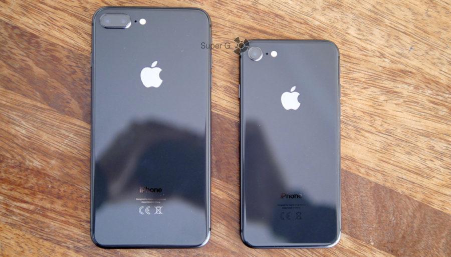Сравнение iPhone 8 Plus и iPhone 8