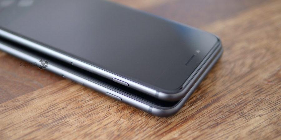 Закаленное стекло в iPhone 8 и спереди, и сзади