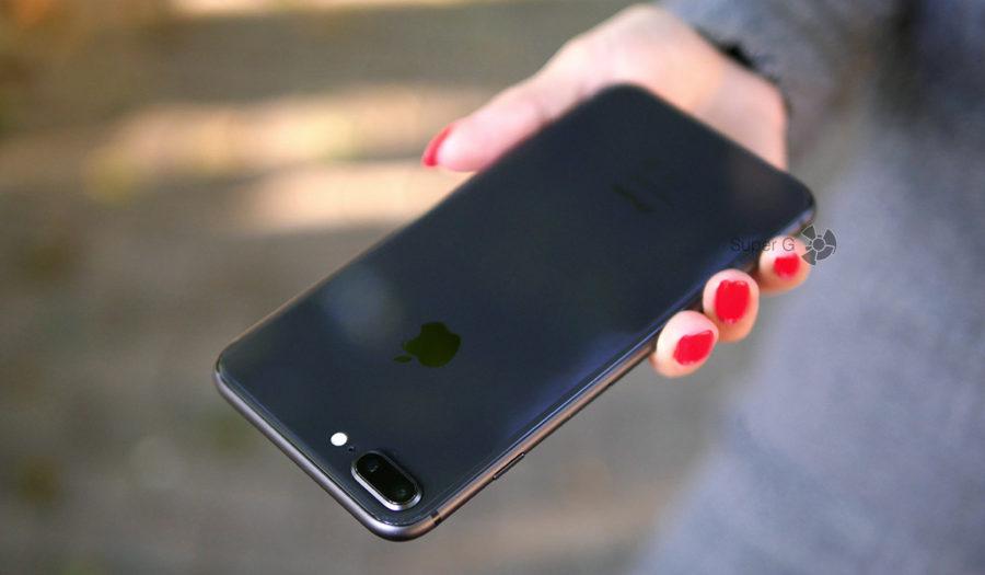 Размеры iPhone 8 Plus и сравнение с другими смартфонами