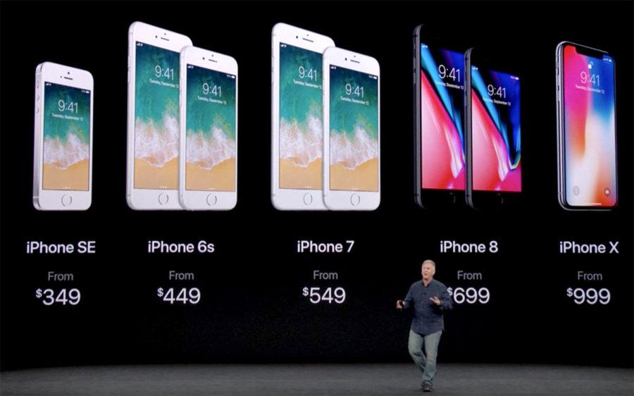 Цены на старые айфоны упали после выхода iPhone X