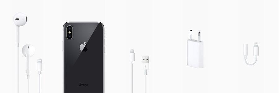 Комплектация iPhone X