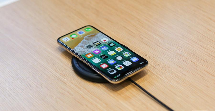 iPhone X батарея