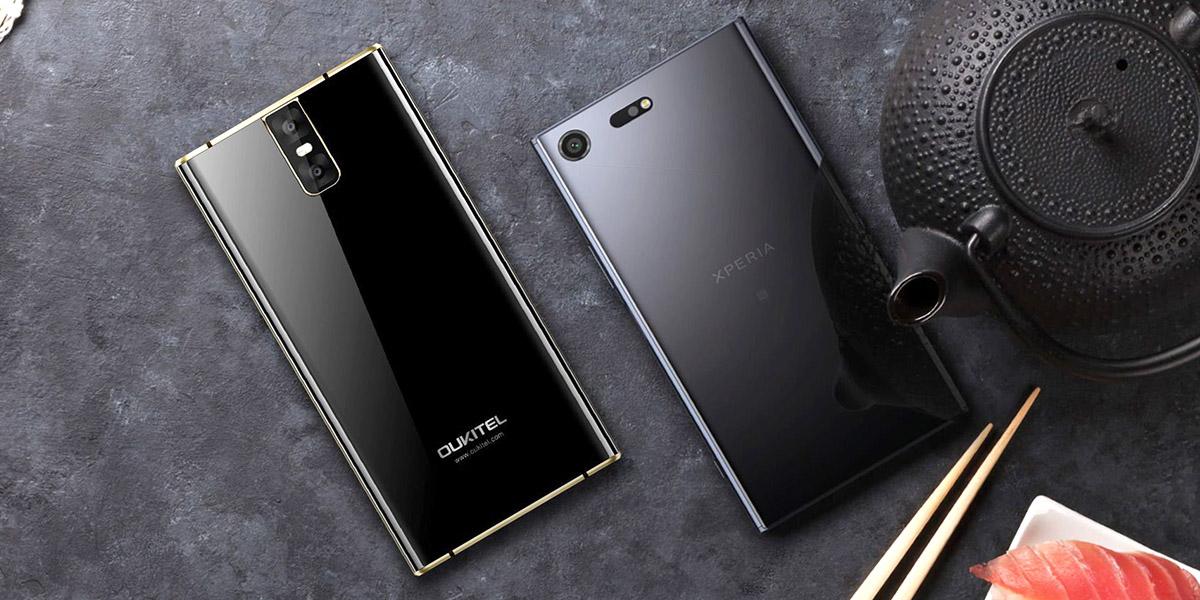 Oukitel K3 - он как Sony XZ Premium, но всё-таки отличается