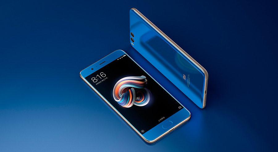 Xiaomi Mi Note 3 дизайн