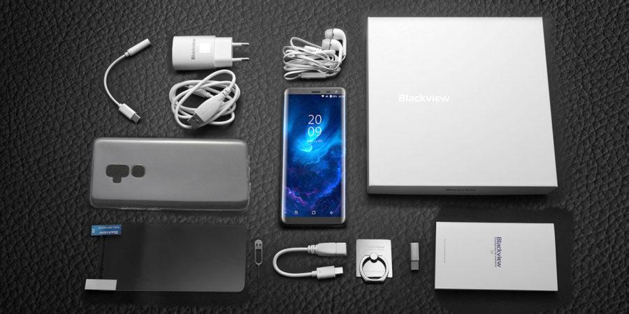 Blackview S8 комплектация