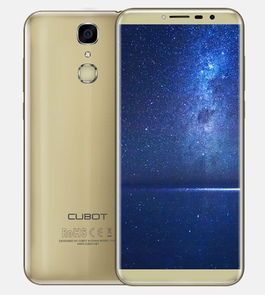 Cubot X18 золотой