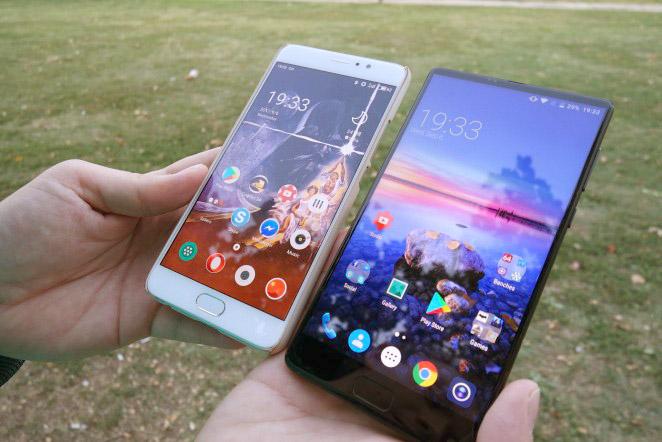 Elephone S8 как выглядит в реальной жизни, в руках