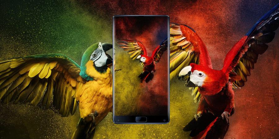 Elephone S8 экран
