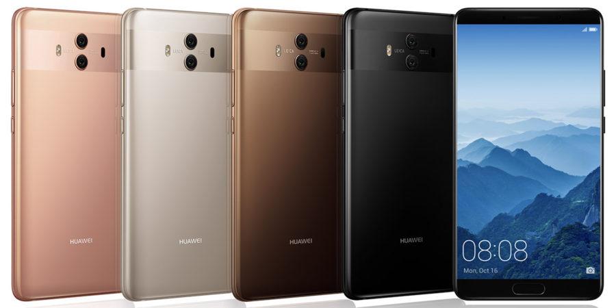 Huawei Mate 10 цвета