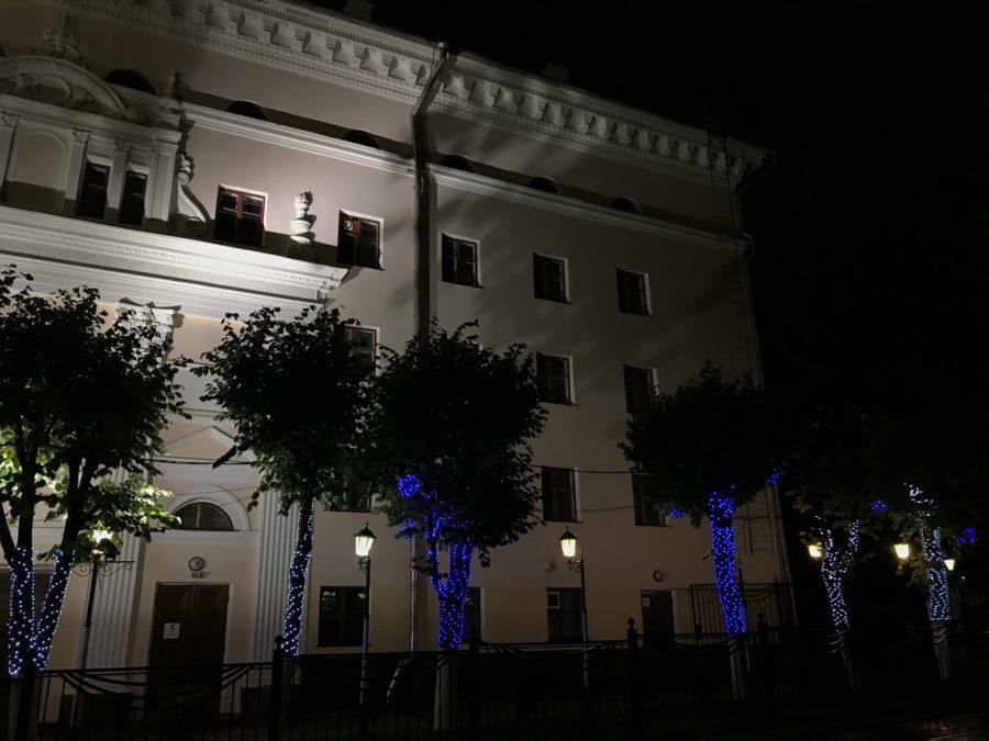 Ночная фотография с камеры iPhone 7