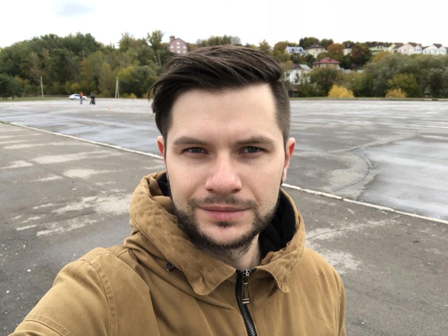 Пример фото с фронтальной камеры iPhone 8