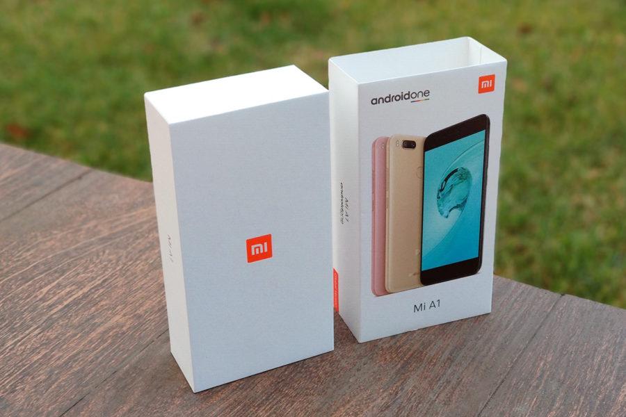 Распаковка официальной версии Xiaomi Mi A1 для России