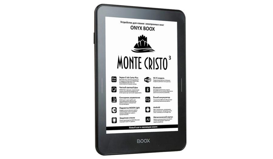 Краткий обзор ONYX BOOX Monte Cristo 3
