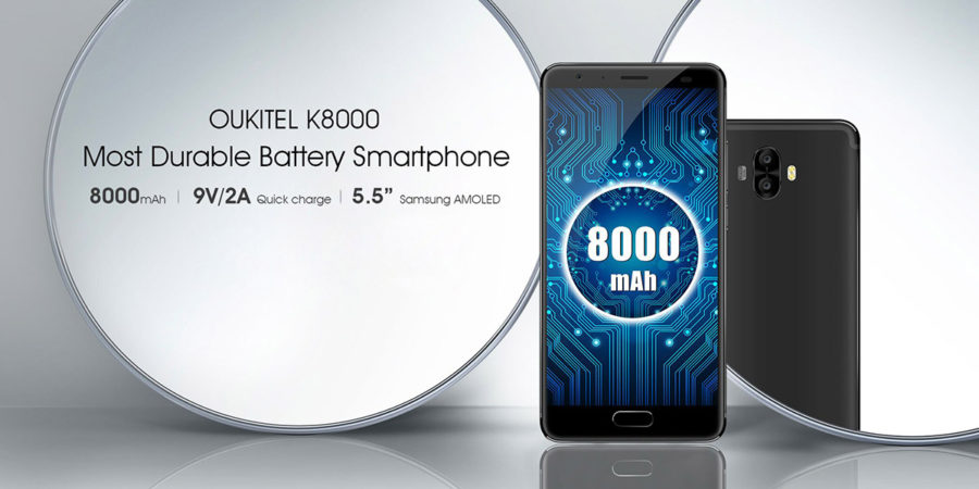 Oukitel K8000 характеристики