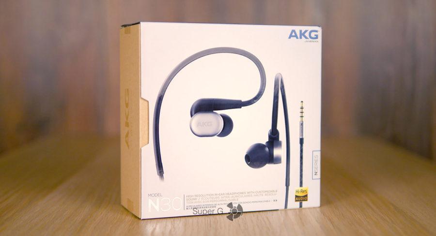 Распаковка наушников AKG N30