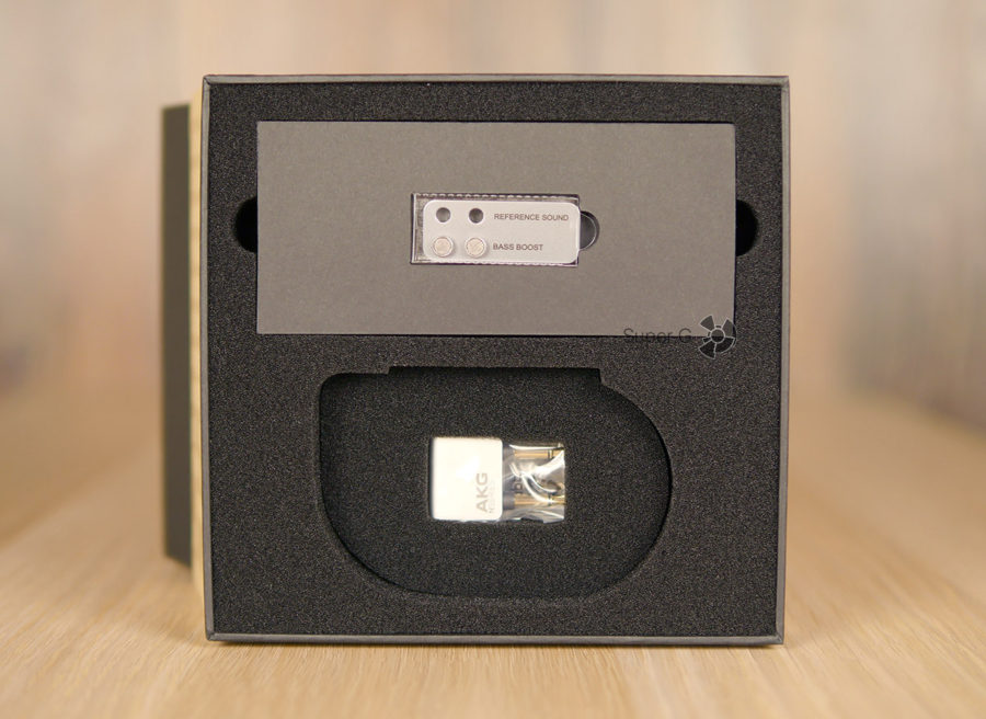 Звуковые фильтры для AKG N30 и авиаадаптер