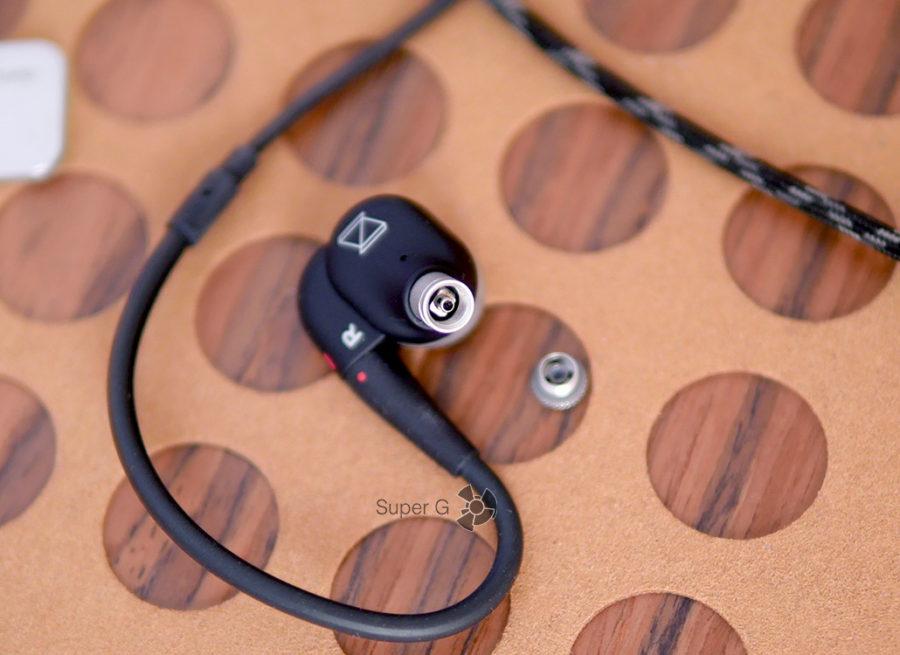 Замена звукового фильтра в наушниках AKG N30