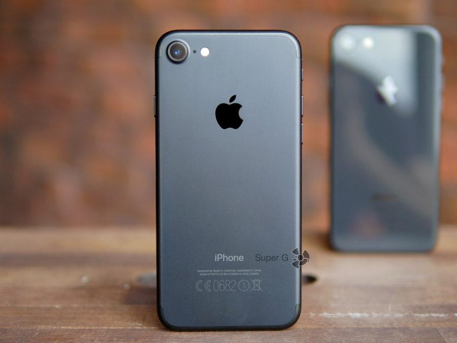 На переднем плане славный iPhone 7