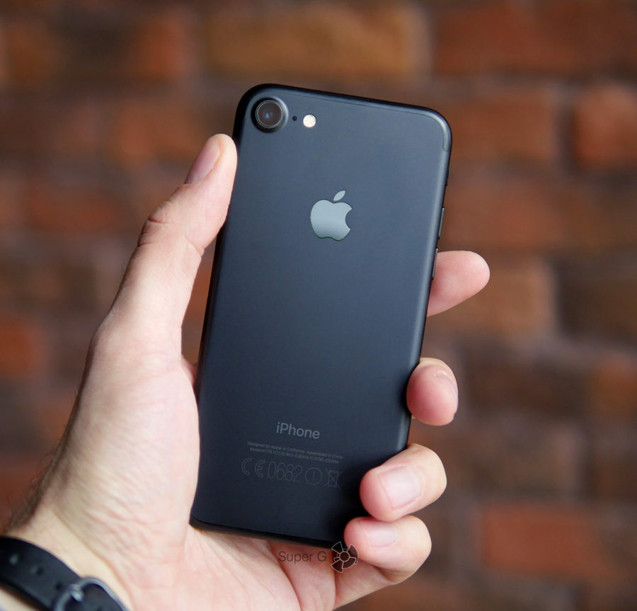 Эксплуатация iPhone 7