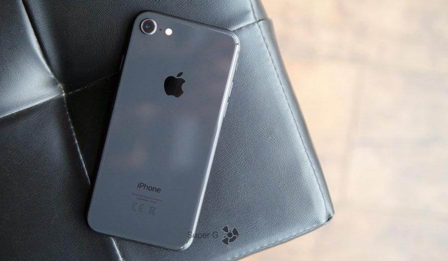 Как снимает iPhone 8 в темноте?