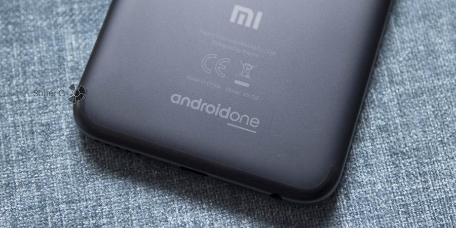 Царапающийся корпус Xiaomi Mi A1