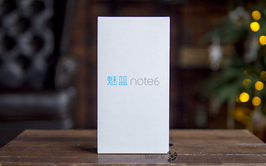 Коробка из-под Meizu M6 Note