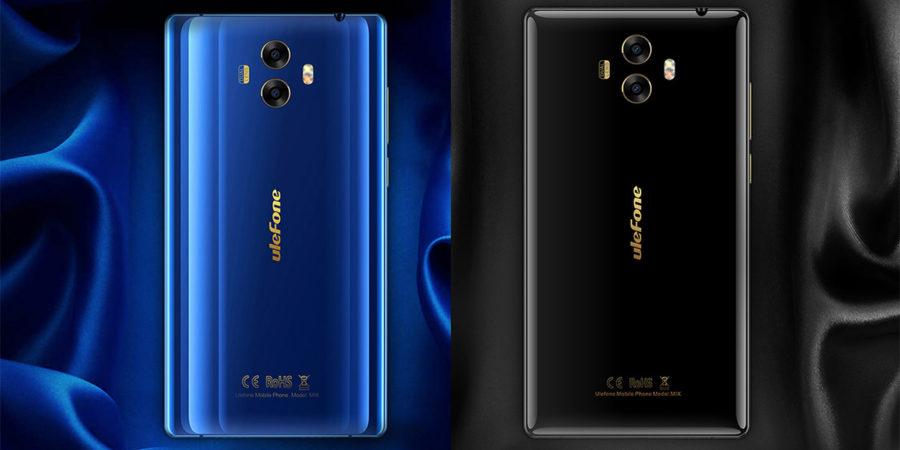 Ulefon MIX синий и черный