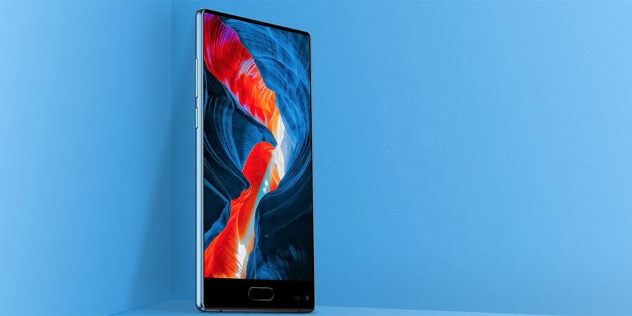 Ulefon MIX дисплей без рамок