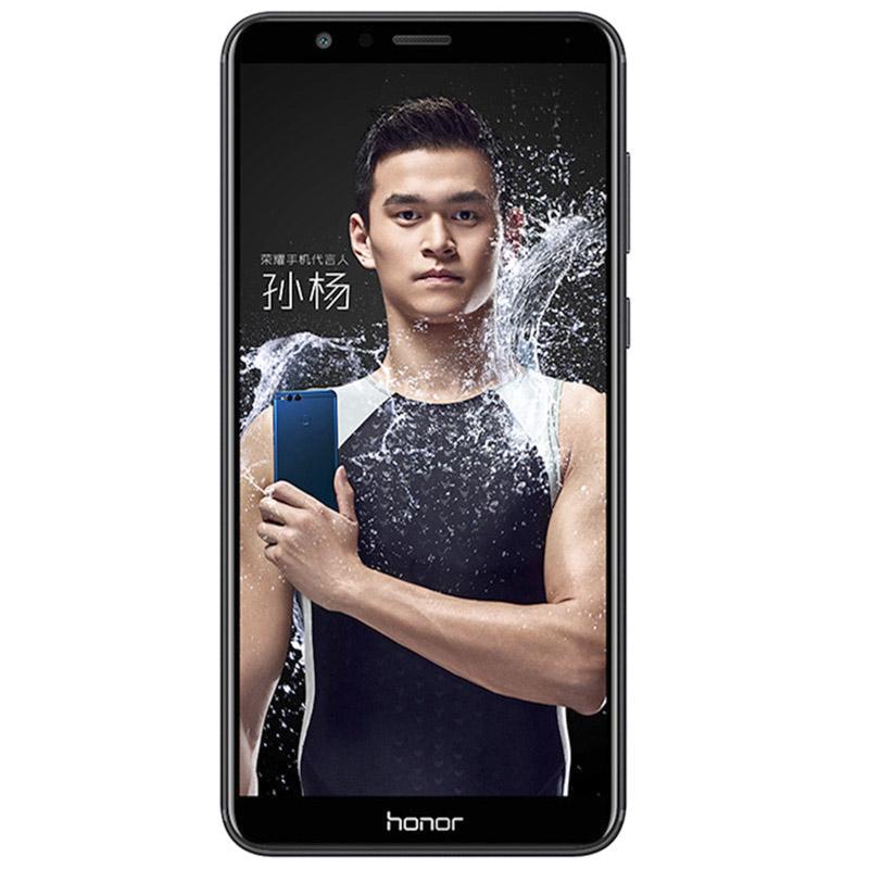 Honor 7X черный (вид спереди)