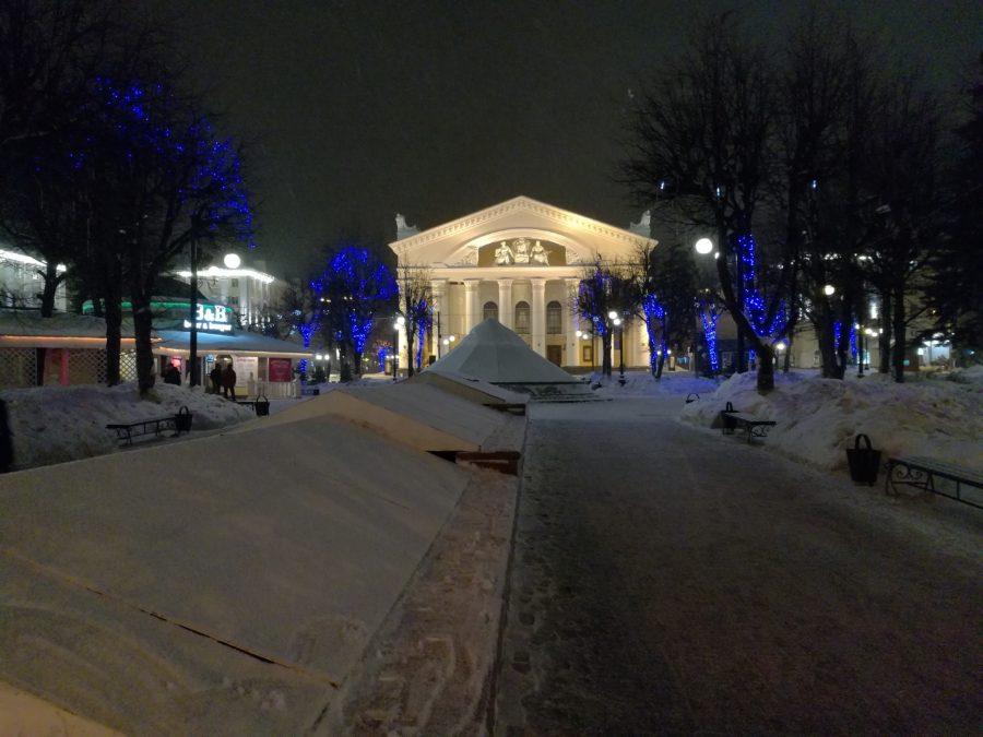 Фото с камеры Honor 6X (зимой снято)