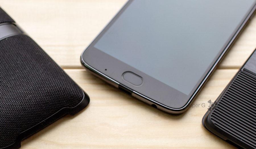 Сканер отпечатков пальцев в Moto Z2 Play