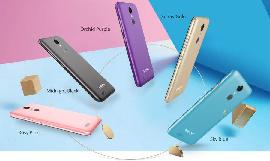 Oukitel C8 4G цвета