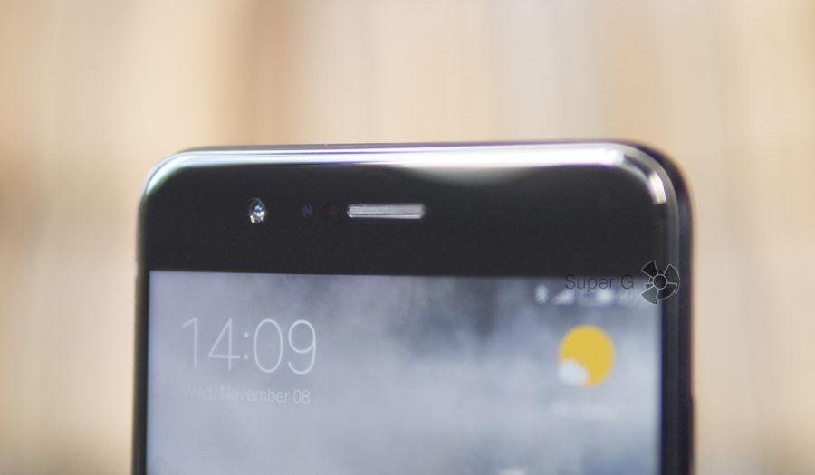 Фронтальная камера Xiaomi Mi Note 3 и датчики