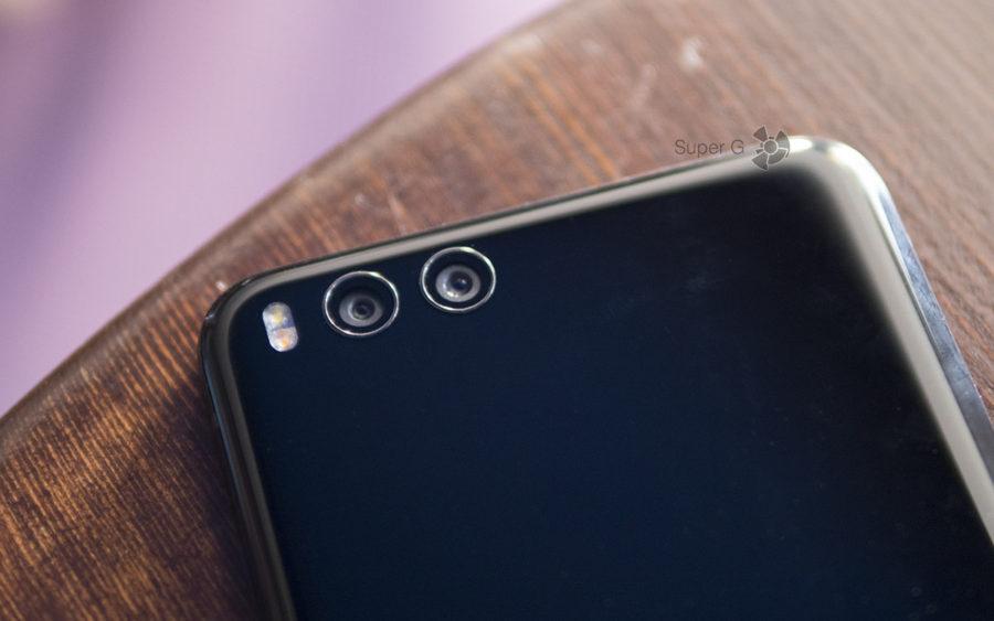 Две камеры Xiaomi Mi Note 3 с двойной вспышкой