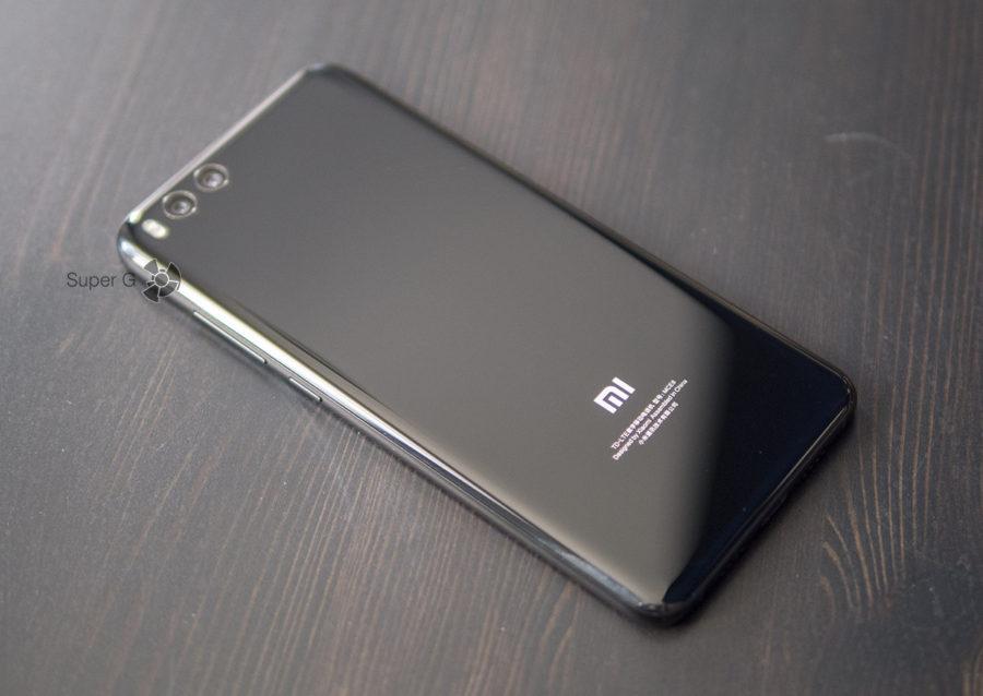 Xiaomi Mi Note 3 без чехла
