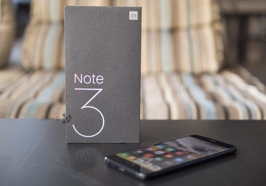 Распаковка Xiaomi Mi Note 3