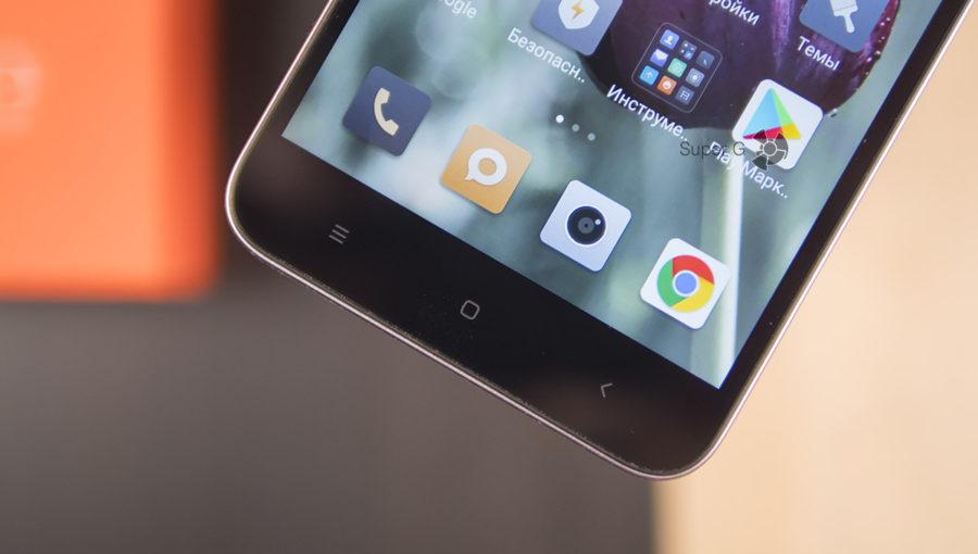 Сенсорные клавиши Xiaomi Redmi Note 5A без подсветки