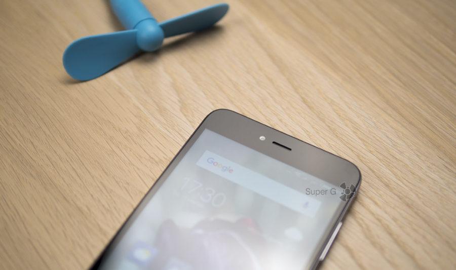 Плоское защитное стекло в Xiaomi Redmi Note 5A с олеофобным покрытием