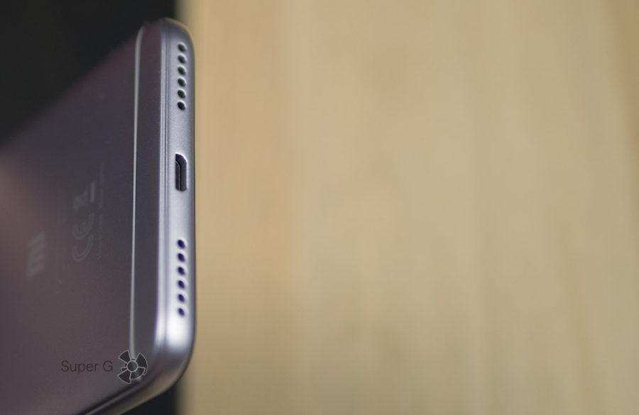 Разъём Micro USB в Xiaomi Redmi Note 5A