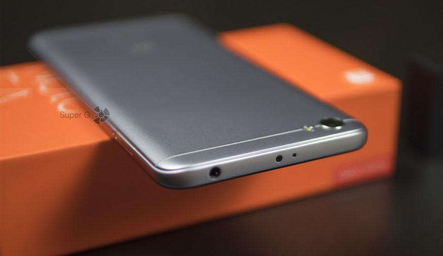 Разъём 3,5 мм и ИК-порт в Xiaomi Redmi Note 5A