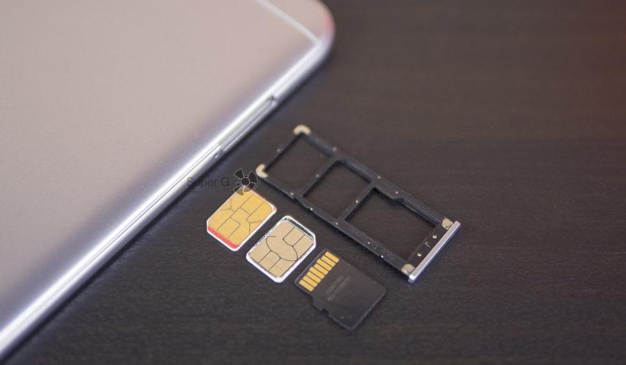 Xiaomi Redmi Note 5A имеет полностью раздельный слот