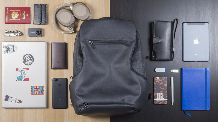 Что поместится в Xiaomi Mi Business Travel Bag