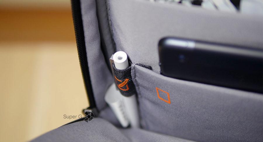 Отделение Xiaomi Mi Business Travel Bag для ручки
