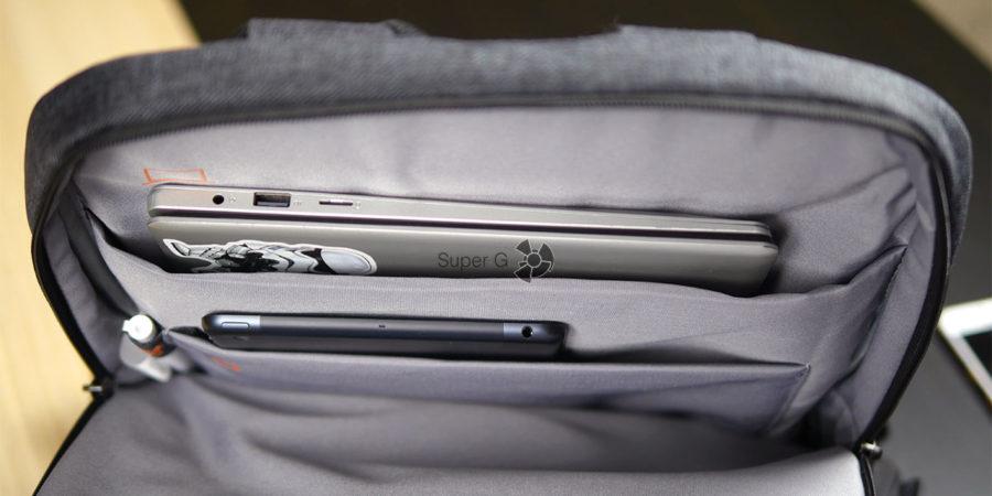 Отделение Xiaomi Mi Business Travel Bag для ноутбука и планшета