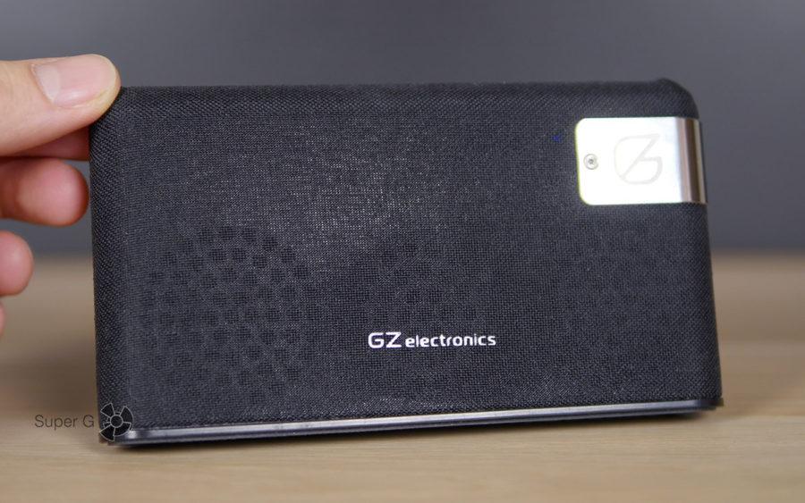 GZ electronics LoftSound GZ-55 имеет два динамика на фронтальной поверхности