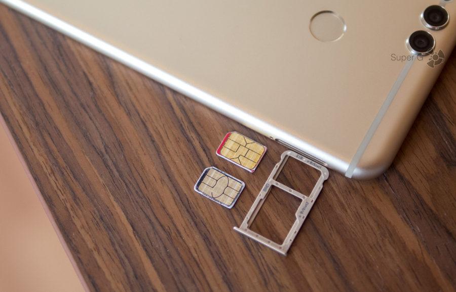 Лоток под SIM-карты Honor 7X
